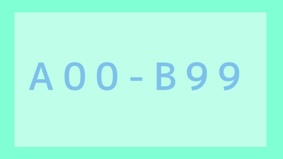 A00-B99