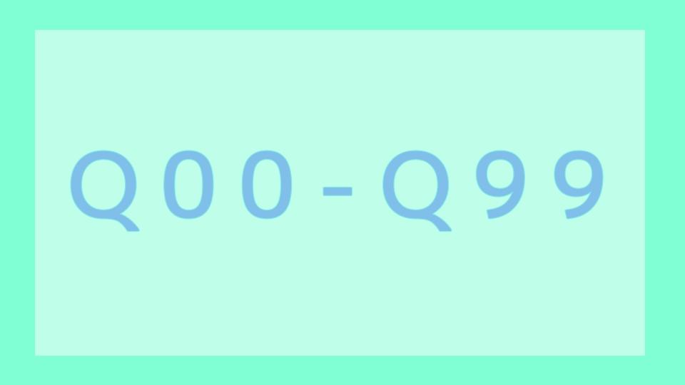 Q00-Q99