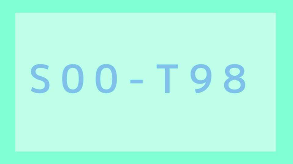 S00-T98